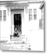 Asessippi School Boy 1946 Metal Print
