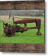 Ashes To Ashes - Rust To Rust Metal Print