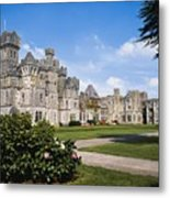 Ashford Castle, County Mayo, Ireland Metal Print