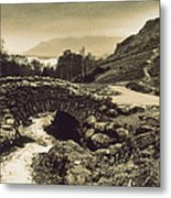Ashness Bridge Cumbria England Metal Print