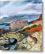 Ashness Bridge. Metal Print