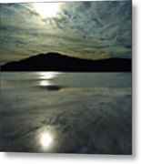 Ashokan Sunset Photograph Metal Print