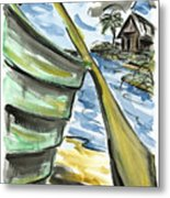 Ashore Metal Print