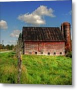 Ashtabula County Barn Metal Print