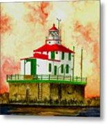 Ashtabula Lighthouse Metal Print