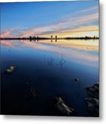 Ashurst Lake Sunrise Metal Print