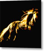Asian Stallion Metal Print