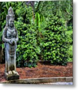 Asian Statue Jefferson Island  Metal Print