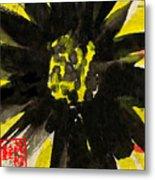 Asian Sunflower Metal Print
