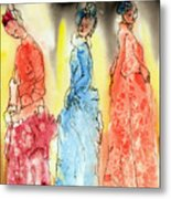 Asian Three Metal Print