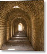 Asklepios Temple Passageway Metal Print