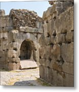 Asklepios Temple Ruins Metal Print