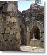 Asklepios Temple Ruins View 4 Metal Print