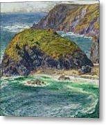 Asparagus Island Metal Print