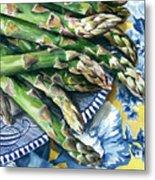 Asparagus Metal Print by Nadi Spencer