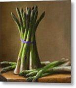 Asparagus  Metal Print by Robert Papp