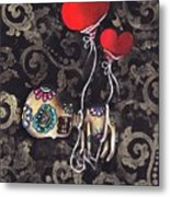 Asphyxiated Metal Print by  Abril Andrade Griffith
