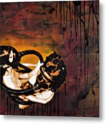 Asphyxiation By Oil Dependency Metal Print