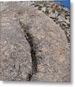 Ass Rock New Mexico Metal Print
