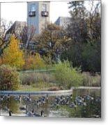 Assiniboine Park Pavilion Metal Print