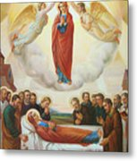 Assumption Of The Blessed Virgin Mary Into Heaven Metal Print