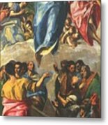 Assumption Of The Virgin 1577 Metal Print