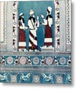 Assyrian King, C720 B.c Metal Print