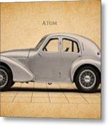 Aston Martin Atom Metal Print