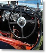 Aston Martin Dashboard Metal Print