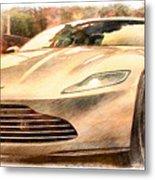 Aston Martin Db10 Metal Print