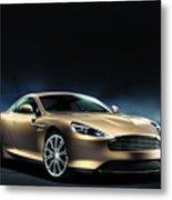 Aston Martin Dragon 88 Limited Edition 2 Metal Print