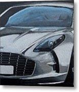 Aston Martin One-77 Metal Print