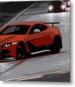 Aston Martin Vantage Gt12 Metal Print