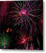 Astonishing Fireworks Metal Print
