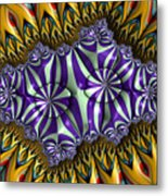 Astonishment - A Fractal Artifact Metal Print