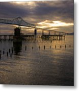 Astoria-megler Bridge 2 Metal Print