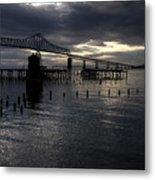 Astoria-megler Bridge Metal Print