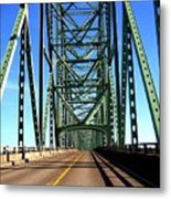 Astoria-megler Bridge Metal Print