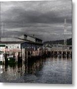 Astoria Waterfront 2 Metal Print