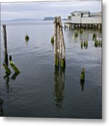 Astoria Waterfront Metal Print