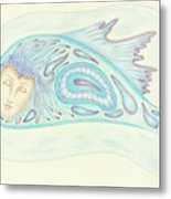 Astral Traveler - From A Dream Image Metal Print