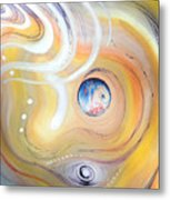 Astral Vision. Earth And Its Energy Metal Print