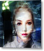 Astrid Has A Secret, She Wouldn't Say A Word Metal Print