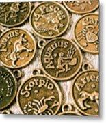 Astrology Charms Metal Print