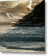 Astwood Beach Metal Print