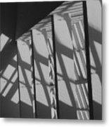 Asylum Windows Metal Print