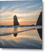 At Cannon Metal Print