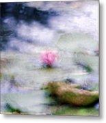 At Claude Monet's Water Garden 12 Metal Print
