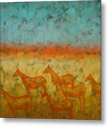 At Dawn Metal Print