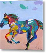 At Full Gallop Metal Print